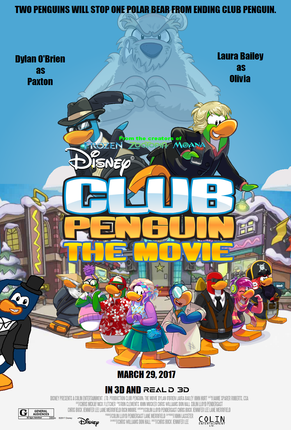 Club Penguin The Movie Idea Wiki Fandom Powered By Wikia