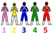 Power Rangers Animated