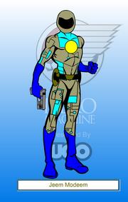 Jeem Modeem as cyborg v2