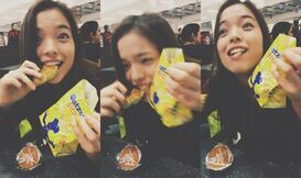 Piper Curda Eating