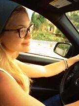 Olivia Holt Driving