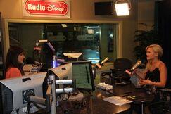 Olivia Talking on Radio Disney