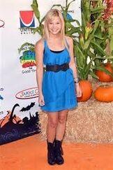 Olivia Wearing a Blue Dress 2011