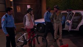 You're under arrest, punk!