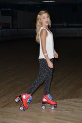 Olivia and her skates