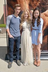 Disney bears Olivia holt 2014 With piper curda and austin north