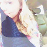 Olivia Holt in the Car