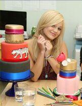 Olivia and a Cake