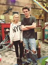 Olivia and Peyton