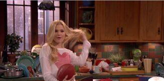 Lindy Football Hair Flip