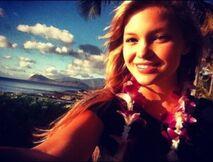 Olivia in Hawaii