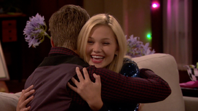 Lindy and Logan Hugging