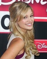 Olivia at Radio Disney