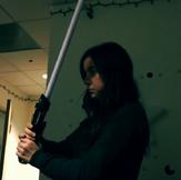 Sarah light saber