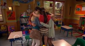The Gang Hugging