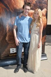 Disney bears Olivia holt 2014 with Peyton Clark