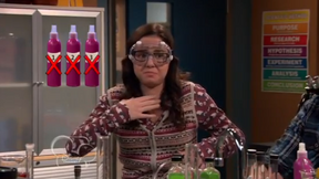 Delia Trying the Formulas