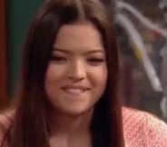 Jasmine Bitting Her Lip