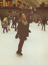 Olivia on Ice
