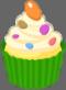 File:Icon - Cupcake - green.png