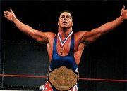 Kurt Angle as NWA World Champion