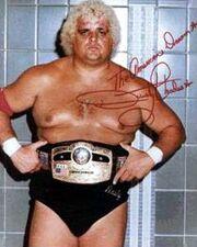Dusty Rhodes as NWA World Champion