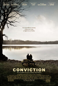 Conviction (2010) poster