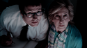 Leigh Whannell and Lin Shaye in Insidious