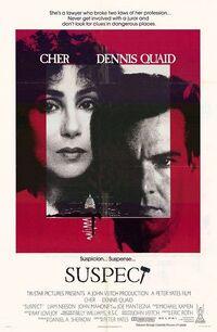 Suspect (1987) poster