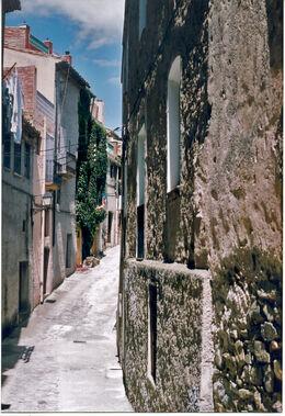 Un carrer de Torroja