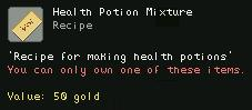Health Potion Mixture