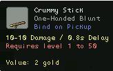 Crummy Stick