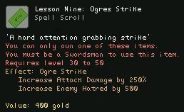 Lesson Nine Ogres Strike