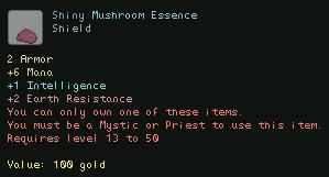 Shiny Mushroom Essence