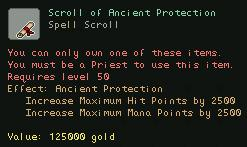 Scroll of Ancient Protection