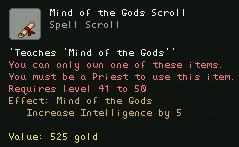 Mind of the Gods Scroll