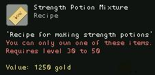Strength Potion Mixture