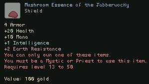 Mushroom Essence of the Jabberwocky