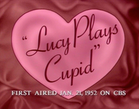 Lucy Plays Cupid