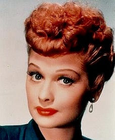 Lucille ball in color
