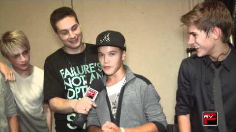 Behind the Scenes With IM5 Band at NRG Dance Project ICONic Boyz Experience