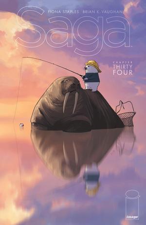 Cover for Saga #34 (2016)
