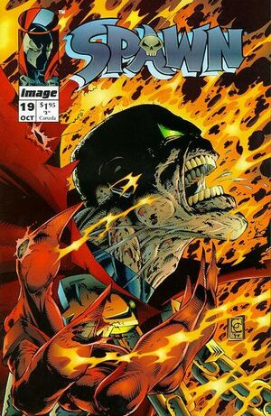 Cover for Spawn #19 (1994)