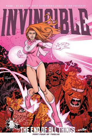 Cover for Invincible #136 (2017)