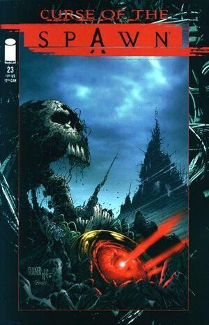 Cover for Curse of the Spawn #23 (1998)