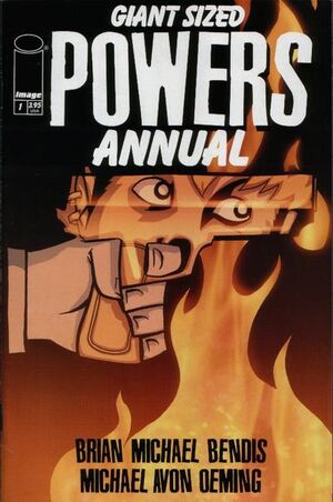 Cover for Powers #1 (2001)