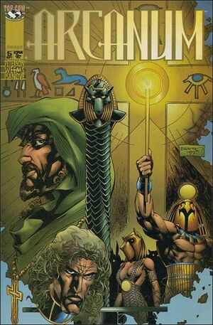 Cover for Arcanum #5 (1997)