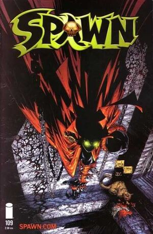 Cover for Spawn #109 (2001)