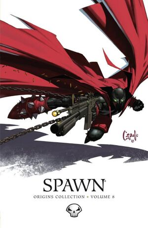 Cover for Spawn: Origins #8 (2010)