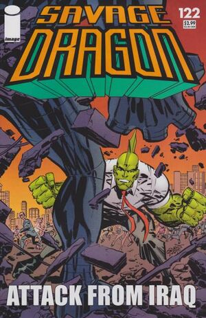 Cover for Savage Dragon #122 (2006)